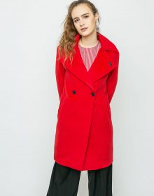 Neon Rose Cocoon Wool Red M