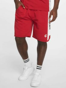 Short Double Logo in red M