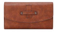 Tamaris Peněženka Bernadette Big Wallet With Flap 7122191-305 Cognac