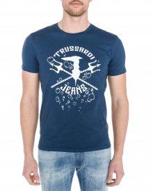 Triko Trussardi Jeans | Modrá | Pánské | L