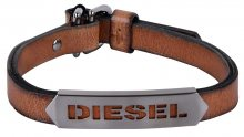 Diesel Pánský kožený náramek DX1000060
