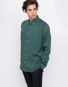 Knowledge Cotton Tencel Shirt/Vegan 1264 Bistro Green L