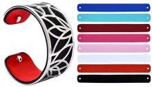 Troli Ocelový náramek s vyměnitelnými barvami 31 mm VIII.