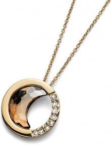 Oliver Weber Zářivý náhrdelník Morning Half Moon 11647G