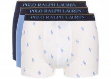 Boxerky 3 ks Polo Ralph Lauren | Modrá Bílá | Pánské | S