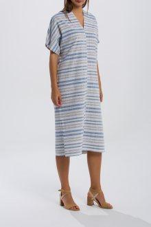 ŠATY GANT O2. MULTI STRIPED DRESS
