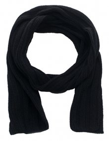 CAPU Zimní šála 2860-C Black