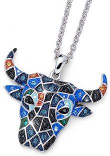Oliver Weber Pestrobarevný náhrdelník Býk Ocean Toro 11724