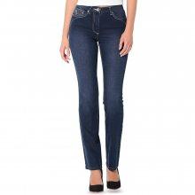 Blancheporte Rovné džíny s push-up efektem modrá 36