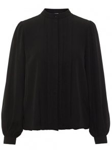 Vero Moda Dámská košile Grow Ls Pleat Shirt Wma Black XS