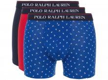 Boxerky 3 ks Polo Ralph Lauren | Modrá Červená | Pánské | S