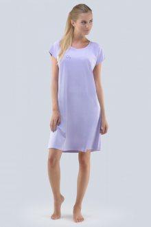 Noční košilka Gina 19071P - barva:GINLRM/achát, velikost:M