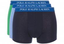 Boxerky 3 ks Polo Ralph Lauren | Modrá Zelená | Pánské | S