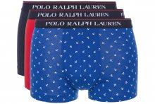 Boxerky 3 ks Polo Ralph Lauren   Modrá Červená   Pánské   S