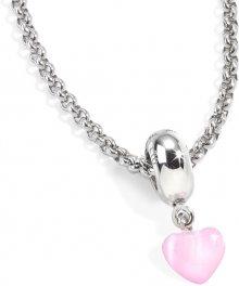 Náhrdelník Morellato Pink Heart CZ487