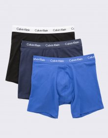 Calvin Klein 3P Boxer Brief Black/ Blueshadow/ Cobaltwater M