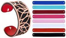 Troli Ocelový náramek s vyměnitelnými barvami 31 mm IX.