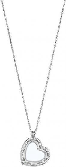 Morellato Stříbrný srdíčkový náhrdelník na elementy Scrigno D`Amore SAMB03 (řetízek, přívěsek)