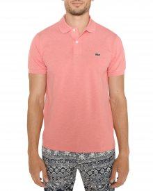 Polo triko Lacoste   Růžová   Pánské   XL