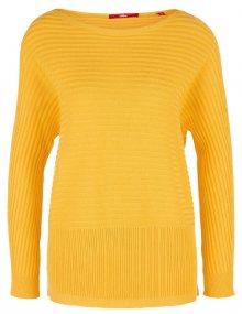 s.Oliver Dámský svetr 14.903.61.5841.1390 Pure Yellow 34