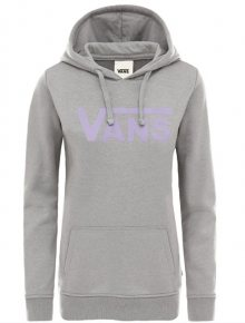 VANS Dámská mikina Flying V Classic Hoodie Grey Heather VN0A3UMPGRH1 S