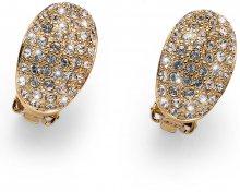 Oliver Weber Luxusní pozlacené náušnice klipsy Shine 22733G