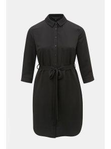 Černé košilové šaty Dorothy Perkins Curve