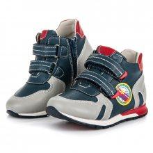 AMERICAN CLUB Dětská kotníčková obuv 5318-0LT.G/BL