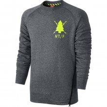 Nike Ru Ntf Asymmetric Crew šedá M