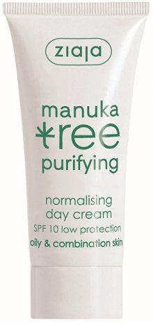 Ziaja Denní krém SPF 10 normalizující Manuka Tree Purifying