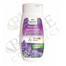 Bione Cosmetics Relaxační sprchový gel Levandule 260 ml