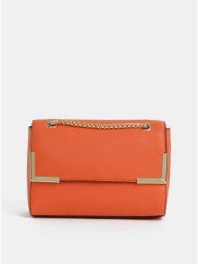 Oranžová crossbody kabelka Dorothy Perkins