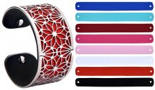 Troli Ocelový náramek s vyměnitelnými barvami 31 mm III.