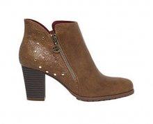 Desigual Dámské kotníkové boty Shoes Frida Winter Valkiria Choco 18WSAP02 6029 37
