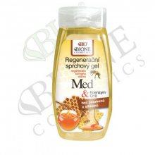 Bione Cosmetics Regenerační sprchový gel Med + Q10 260 ml