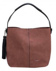 David Jones Dámská kabelka Dark Pink CM3965