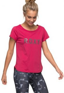 Roxy Dámské sportovní triko Sh W Tee Red Bud ERJKT03297-MQG0 M