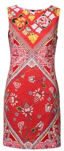 Desigual Dámské šaty Vest Lisa Carmin 19SWVWAF 3000 36