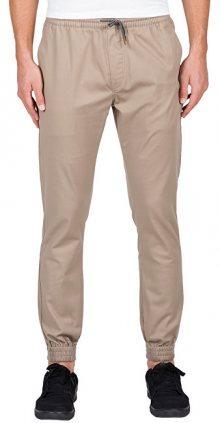 Volcom Pánské kalhoty Frickin Slim Jogger Pants A1231600-KHA XL