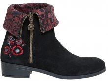 Desigual Dámské kotníkové boty Shoes Neoboho Foulard Negro 18WSAL12 2000 37