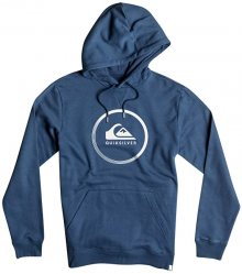 Quiksilver Mikina Big Logo Hood Navy Blazer Heather EQYFT03717-BYJH S