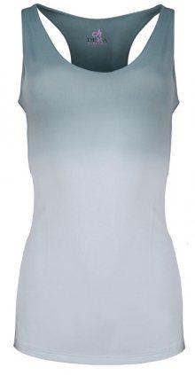 Deha Dámské tílko Yoga V Tank Top B84527 Shaded Ombre Blue L