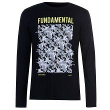 Pánské tričko s dlouhým rukávem Fabric