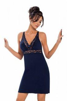 Donna Lily tmavě modrá Noční košile XXL tmavě modrá