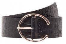 Vero Moda Dámský opasek Palermo Leather Waist Belt Black 70 cm