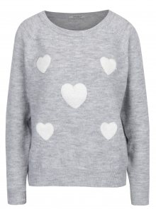 Světle šedý svetr Haily´s Emma