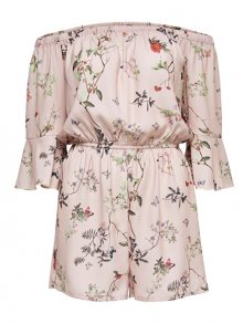 ONLY Dámský overal Butterfly Off Shoulder Playsuit WVN 15163125-Rose Smoke 36