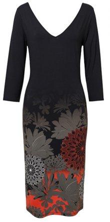 Desigual Dámské šaty Vest Florencia Negro 19SWVK89 2000 S