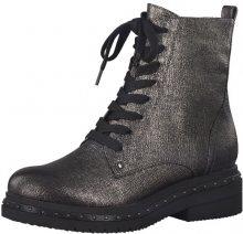 Tamaris Elegantní dámské kotníkové boty 1-1-25131-39-949 Platinum Stru. 39