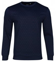 ONLY&SONS Pánský svetr Tom Jacquard Crew Sweat Dress Blues S